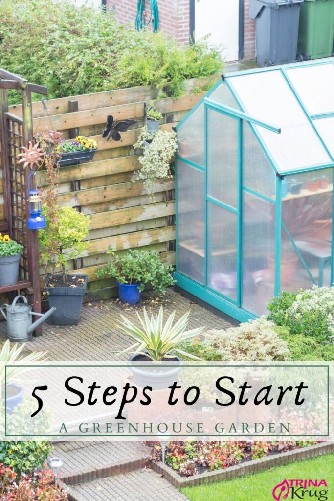 Five Steps to Start a Greenhouse Garden