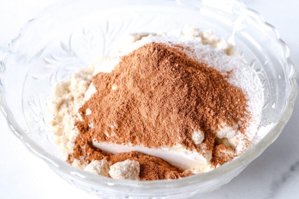 Keto Pumpkin Pie Spice Fat Bomb Ingredients