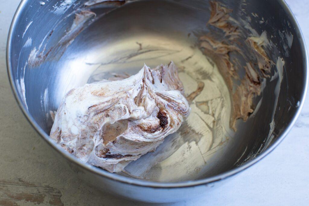 Keto Churro Fat Bombs Ingredients in bowl