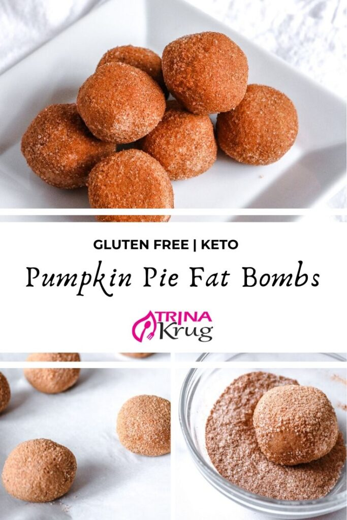 Keto Pumpkin Pie Fat Bombs