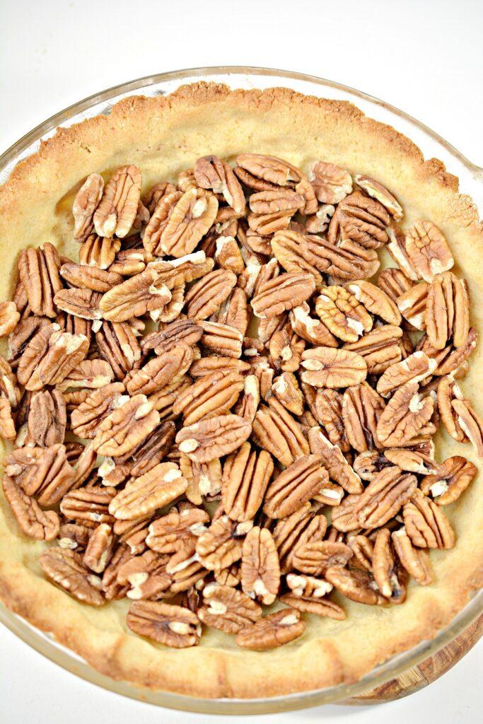 Keto Pecan Pie Ingredients