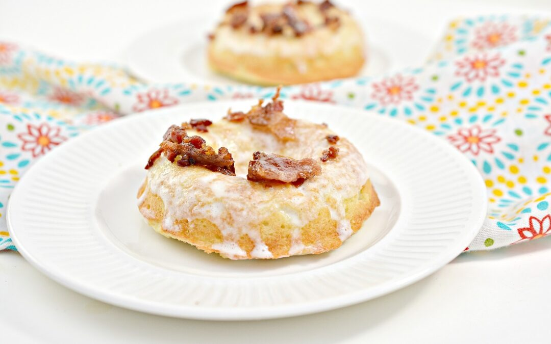 Keto Maple Donuts With Bacon