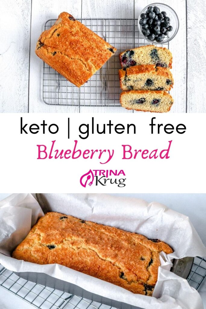 Keto Blueberry Bread