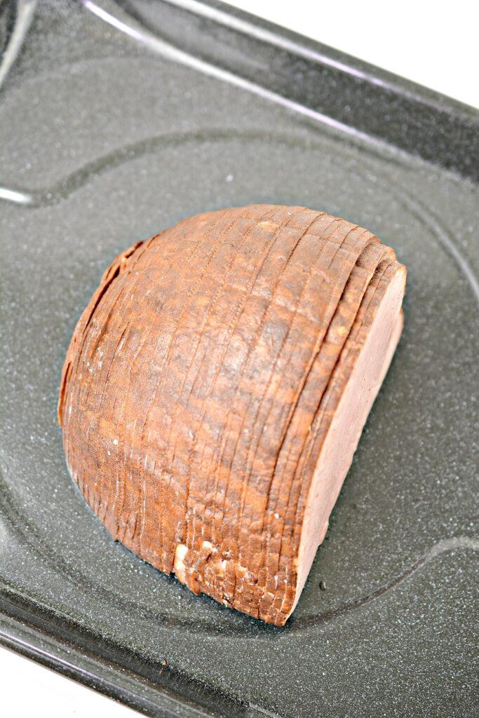 Keto Glazed Ham