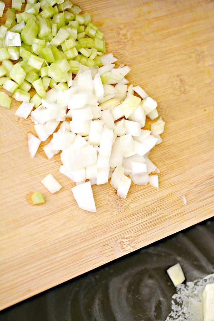 Keto Chicken and Dumplings Ingredients