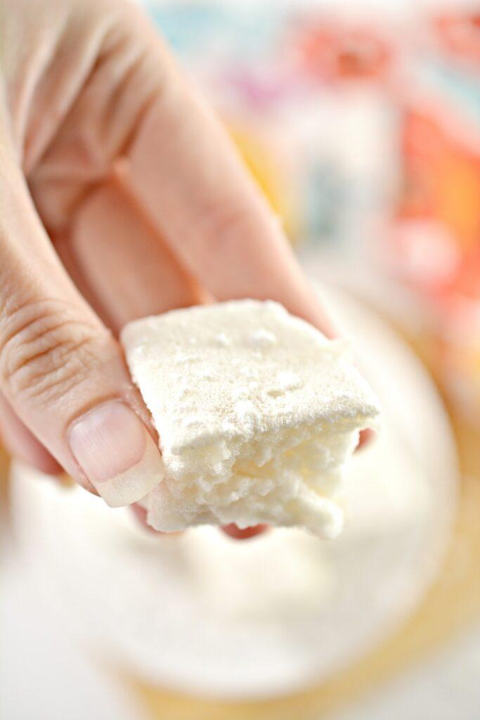 Keto Marshmallows close up
