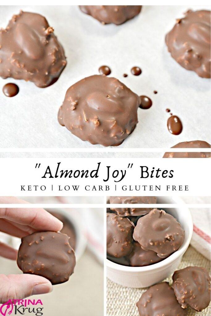Keto Almond Joy Bites