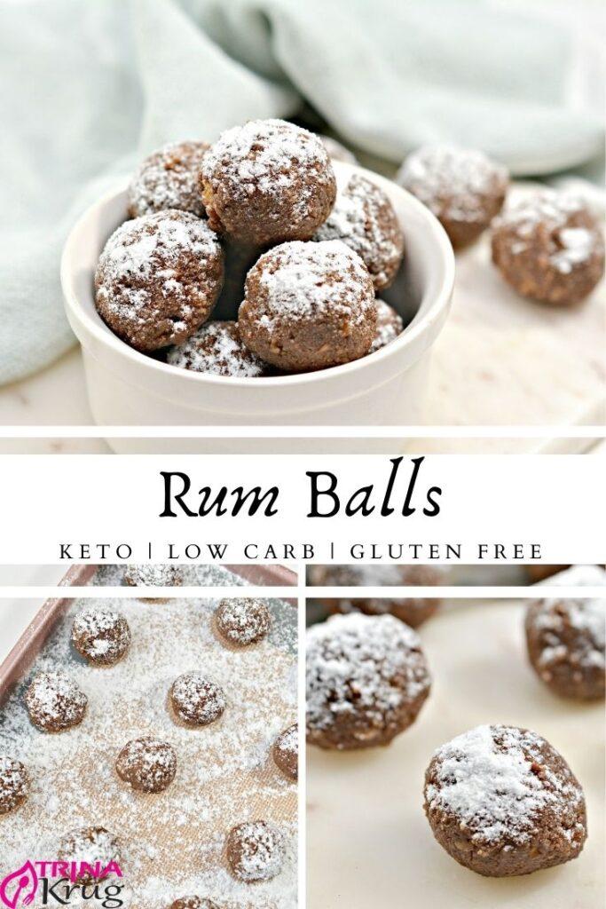 Keto Rum Balls