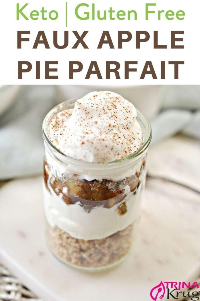 Keto Faux Apple Pie Parfaix