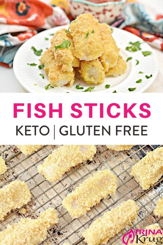 Keto Fish Sticks