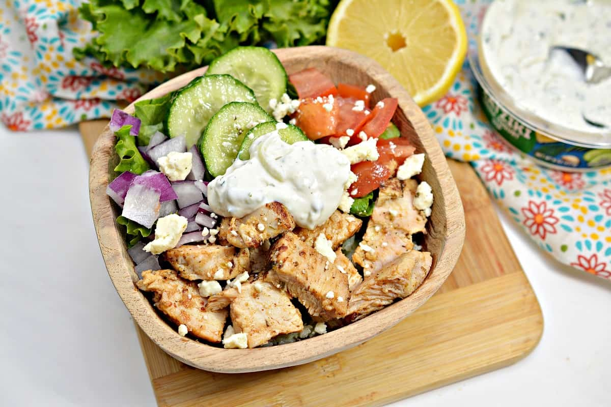 Chicken Mediterranean Bowl