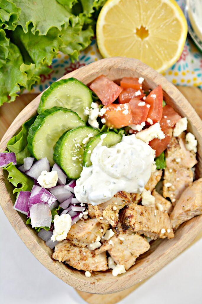 Chicken Mediterranean Bowl