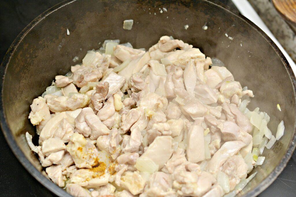 Keto Curry Chicken Ingredients