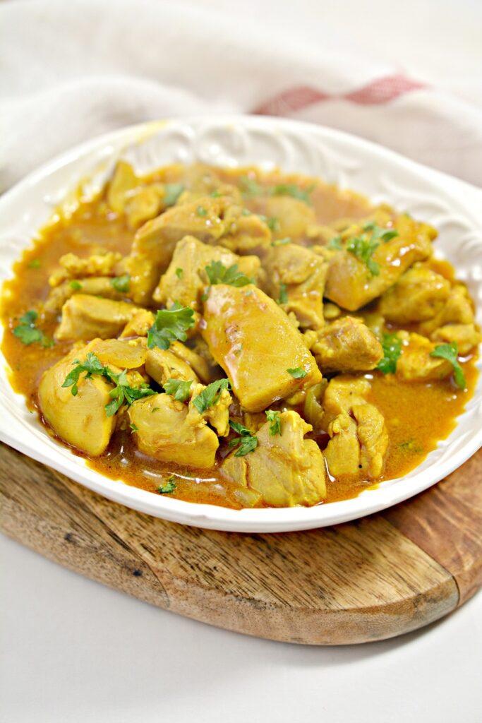 Keto Curry Chicken
