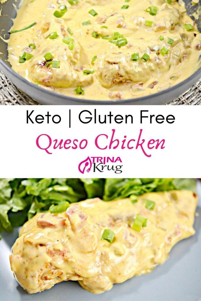 Keto Chicken Queso