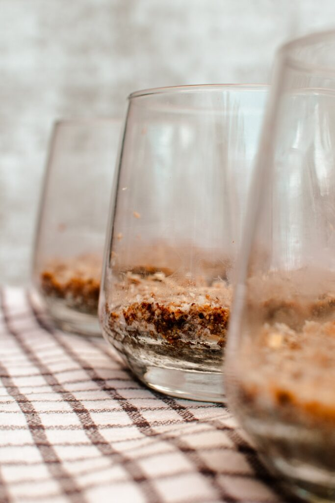 Toasted Hazelnut and Chocolate Dessert Cups Ingredients