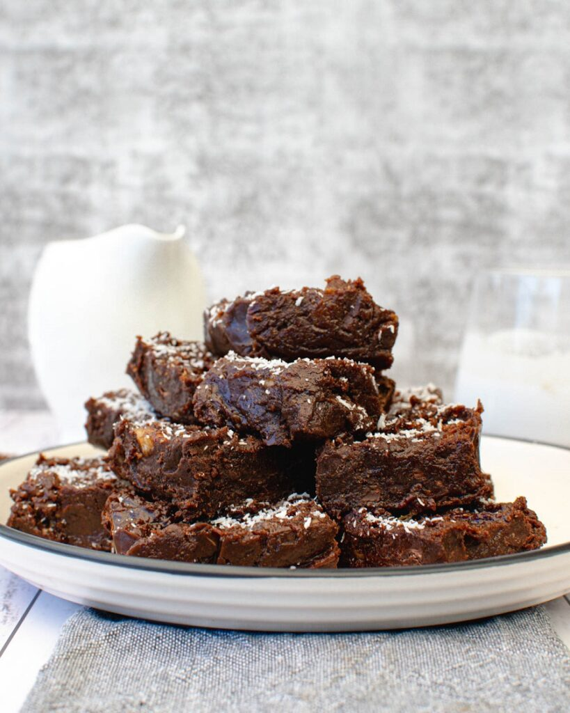 Sugar Free Fudge on plate