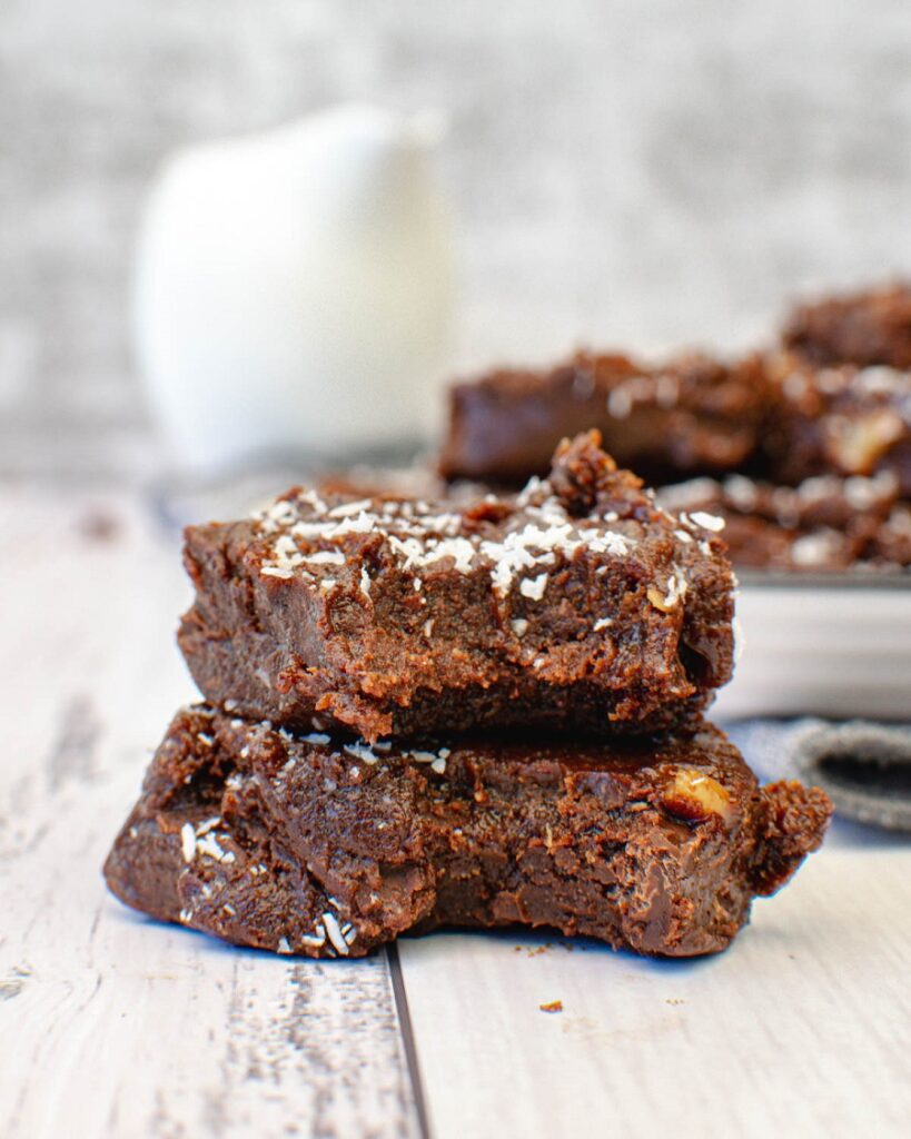 Sugar Free Fudge with bite