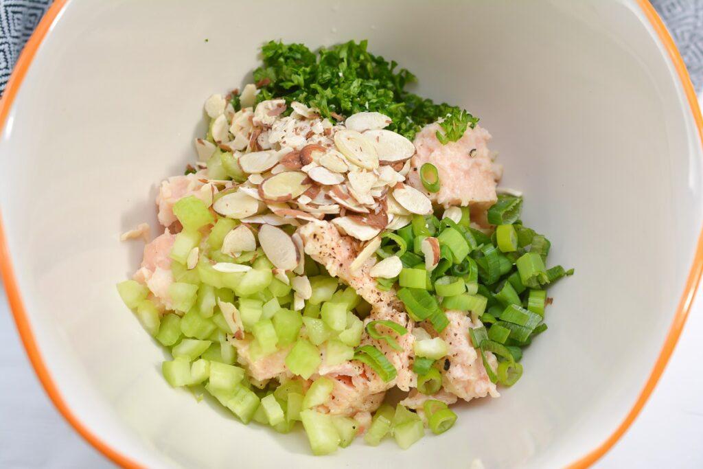 Keto Egg Salad Snacks Ingredients