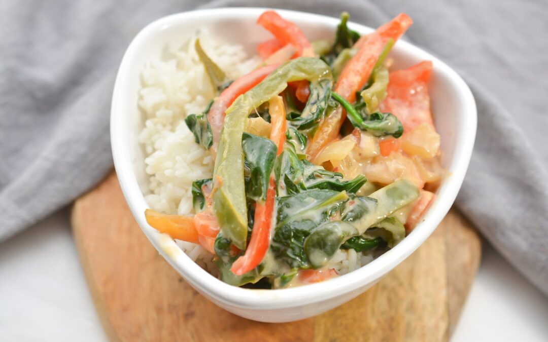 Vegan Thai Curry (Gluten Free, Low Carb)