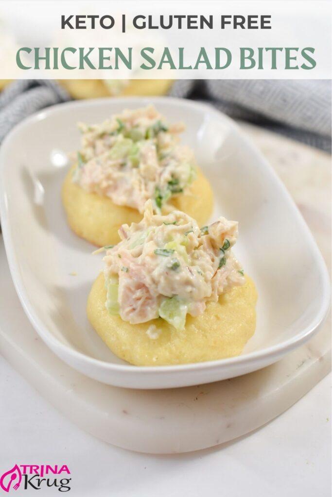 Keto Chicken Salad Bites