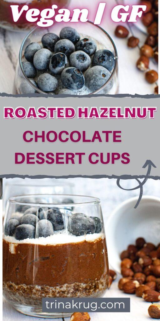 Vegan Chocolate Dessert Cups