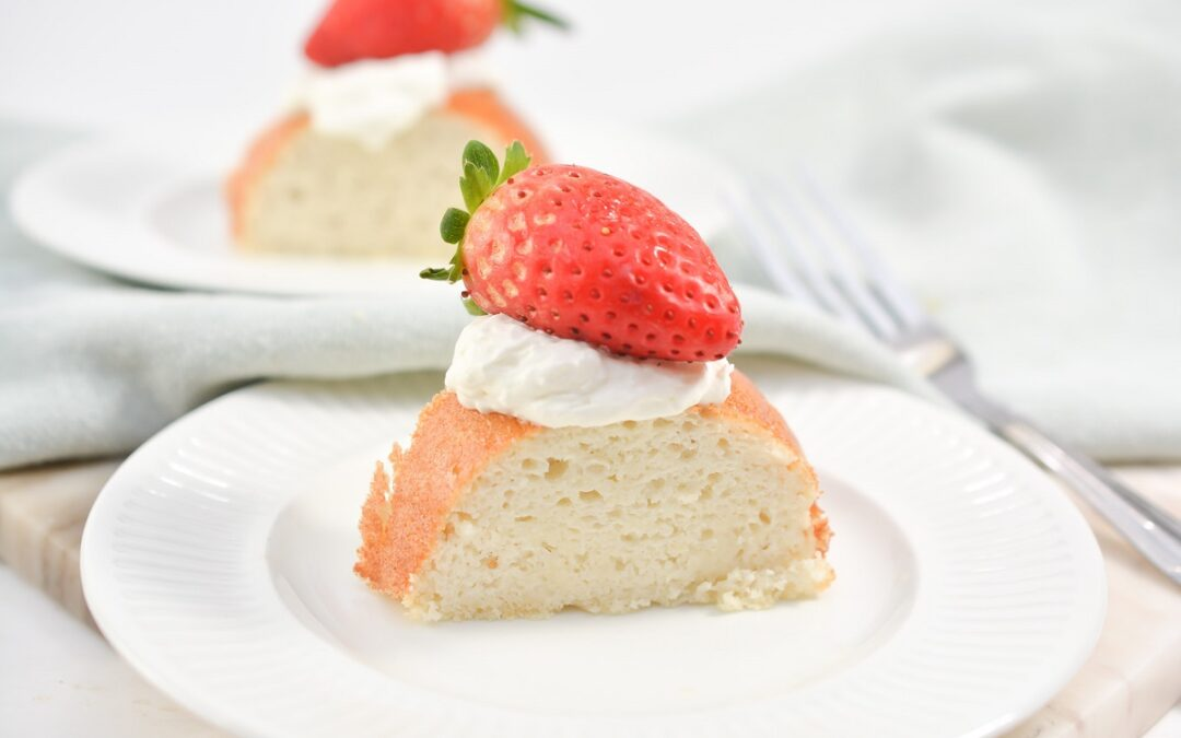Keto Angel Food Cake