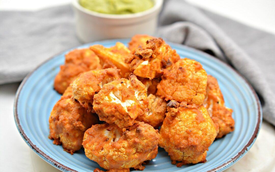Vegan Buffalo Cauliflower Bites (Gluten Free)