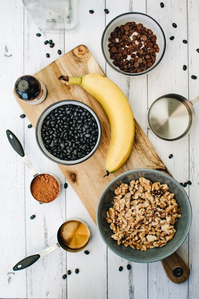 Vegan Black Bean Brownies Ingredients