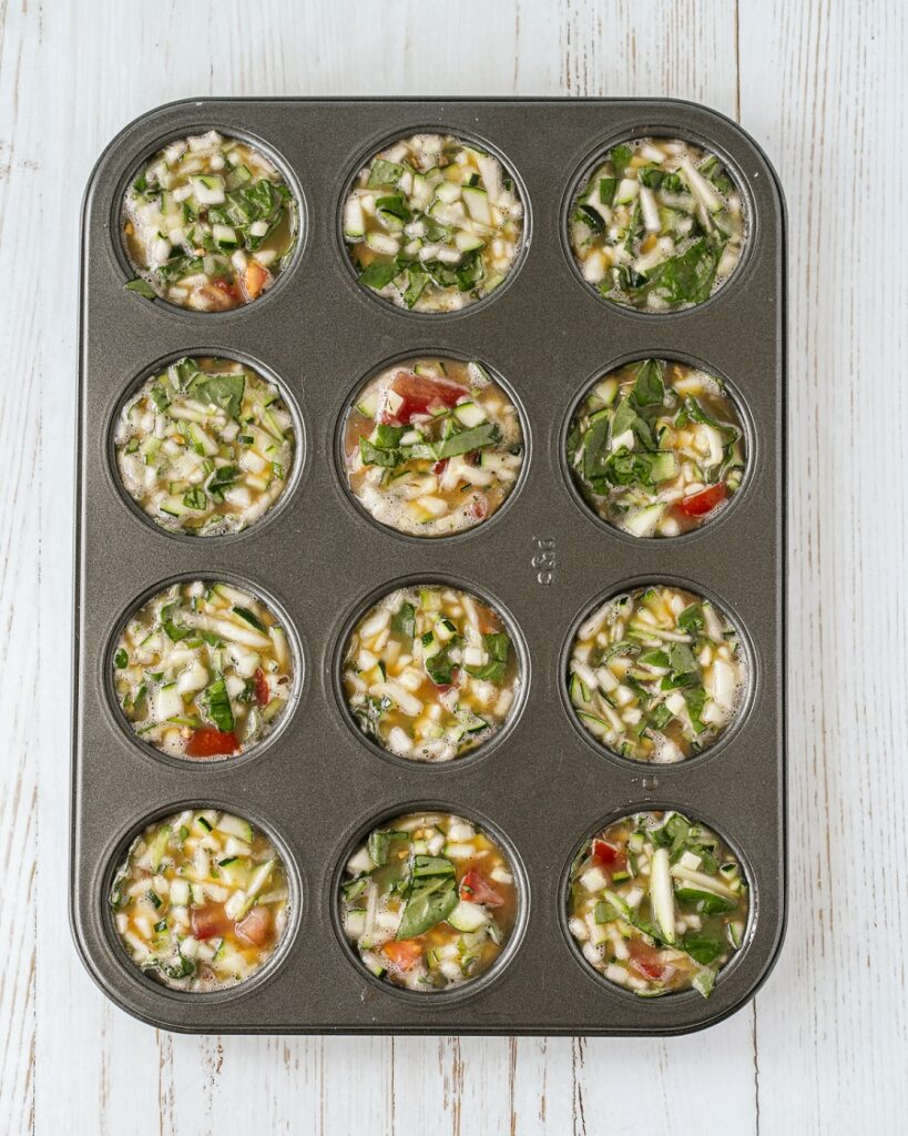 How to Make Zucchini Egg Cups