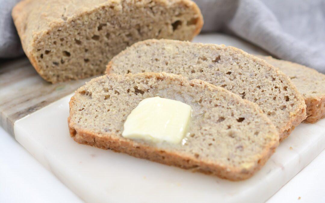 Homemade Gluten Free Bread (Keto | Paleo Friendly)