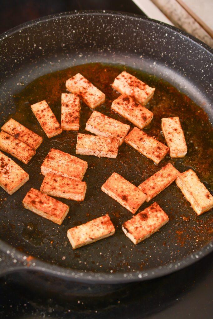Vegan Burrito Bowls Ingredients