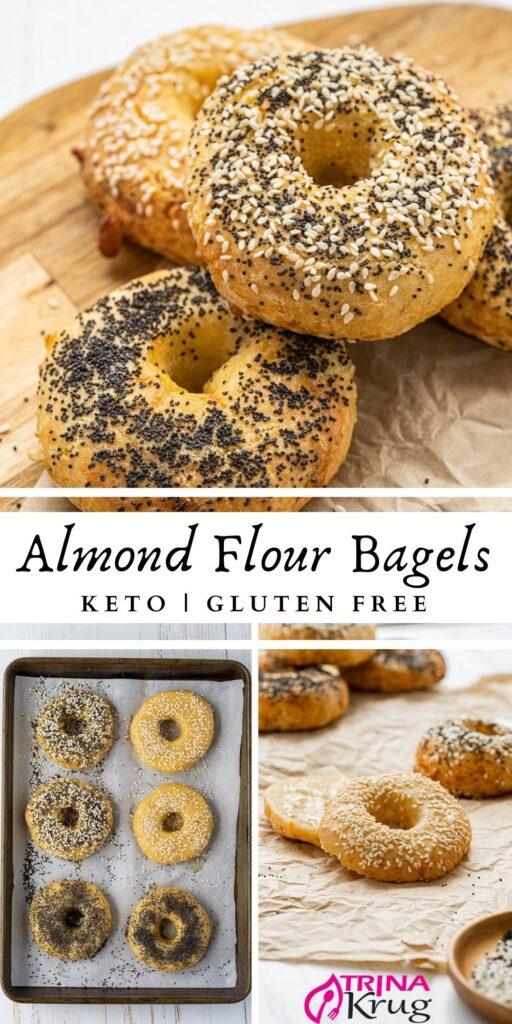 Keto Almond Flour Bagels