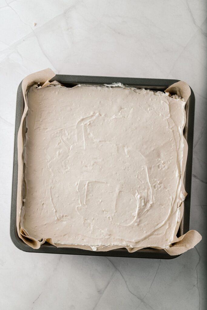How to Make No Bake Keto Cheesecake with Berry Sauce