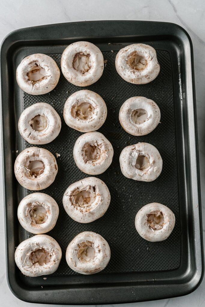 How to Make Keto Stuffed Mushrooms