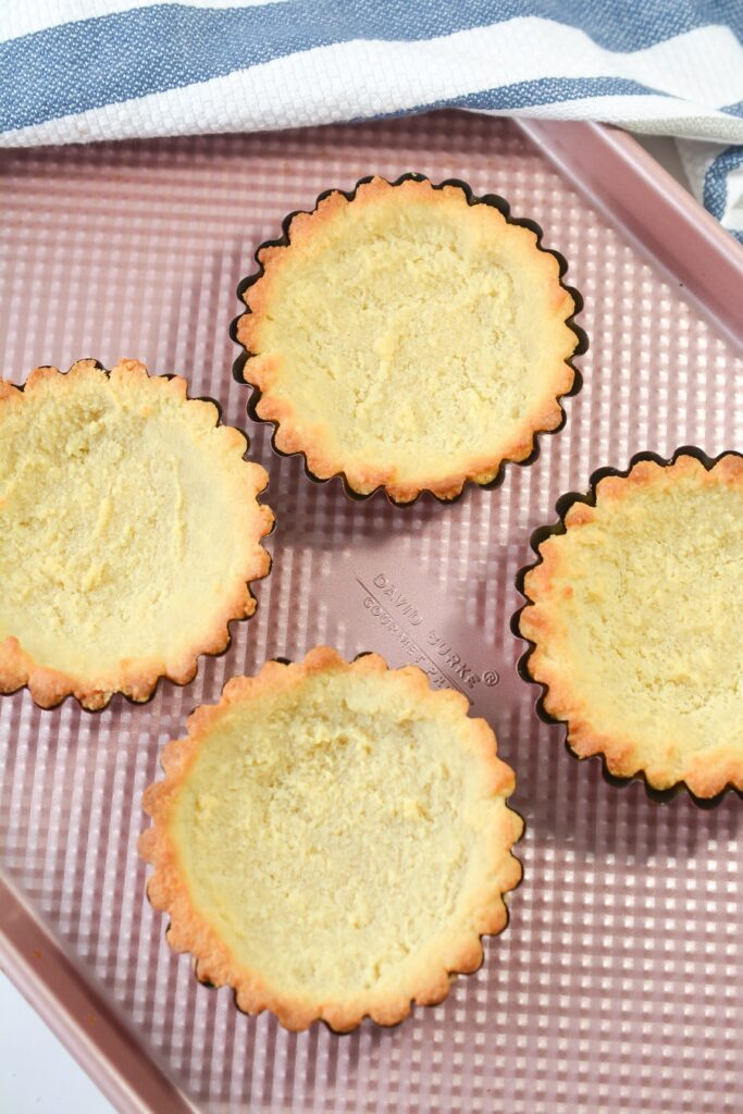 How to Make Lemon Curd Keto Tarts