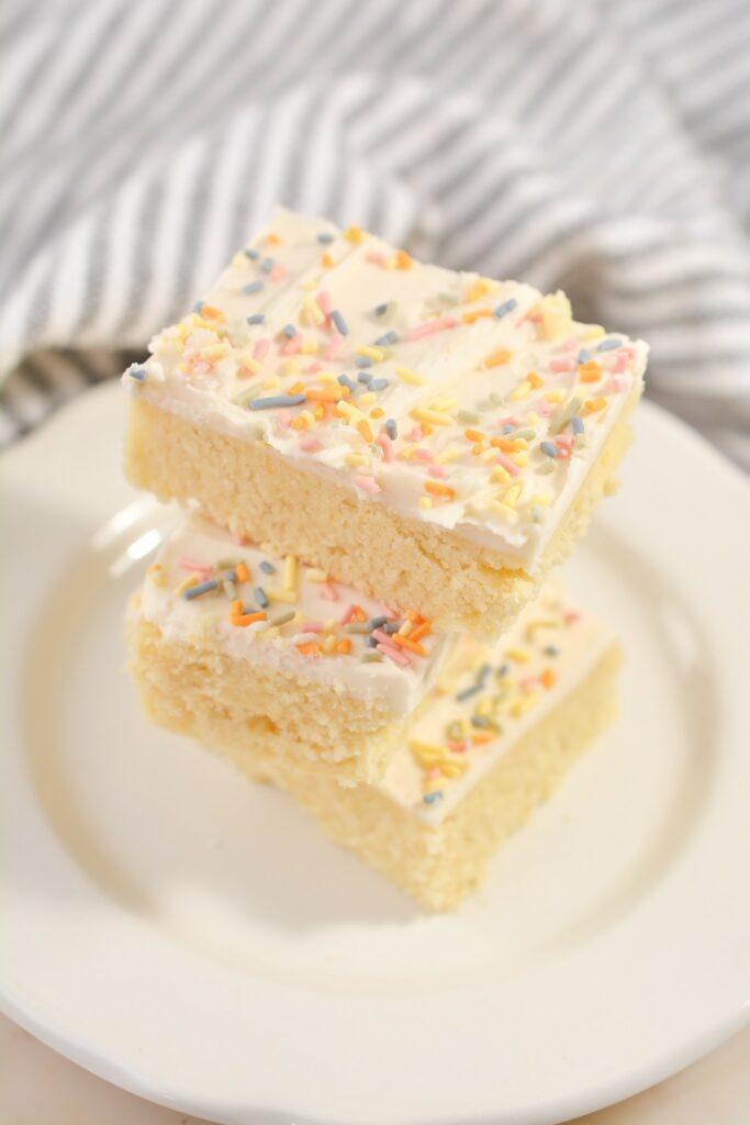 Keto Sugar Cookie Bars
