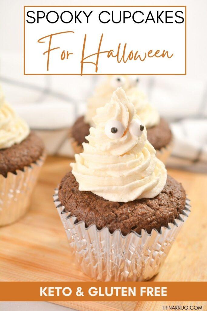 Keto Cupcakes for Halloween