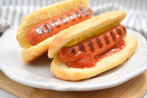 Keto Hot Dog Buns
