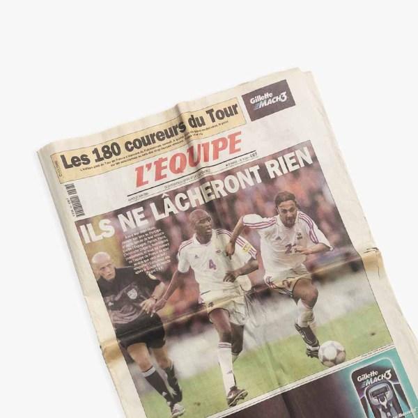 Journal L'Equipe Euro 2000