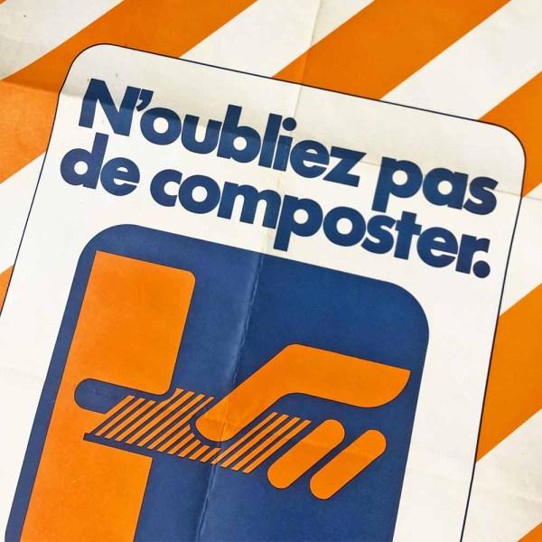 affiche SNCF