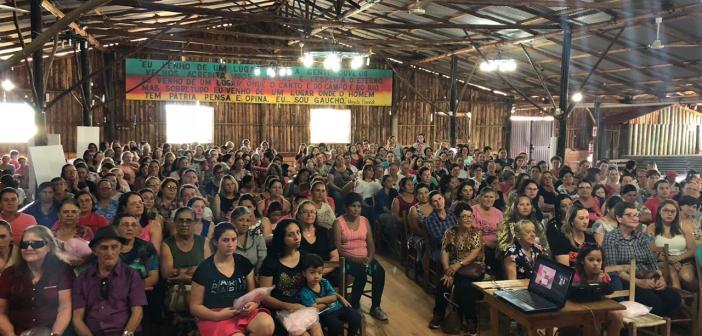Trindade do Sul – Palestra sobre Saúde da Mulher e Outubro Rosa é um sucesso