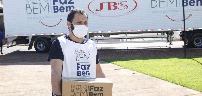 Trindade do Sul – JBS leva mais uma doação ao município