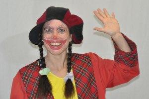 Begrüßung Clown Trine