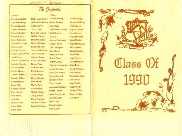 Graduation Pamplet
