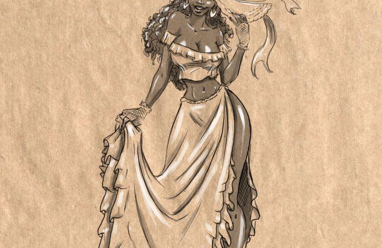 La Jahbess from Trinidad folklore