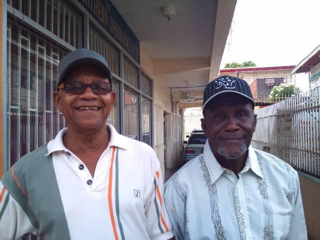 Mr Trevajo and Mr Williams