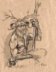 Trinidad folklore Papa Bois