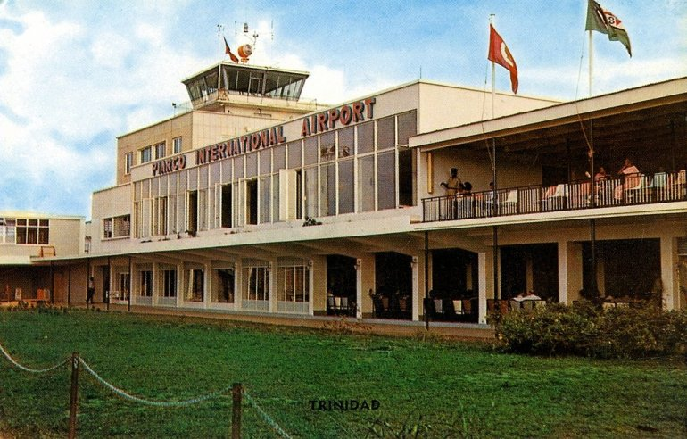 Waving Gallery of Piarco Airport Trinidad
