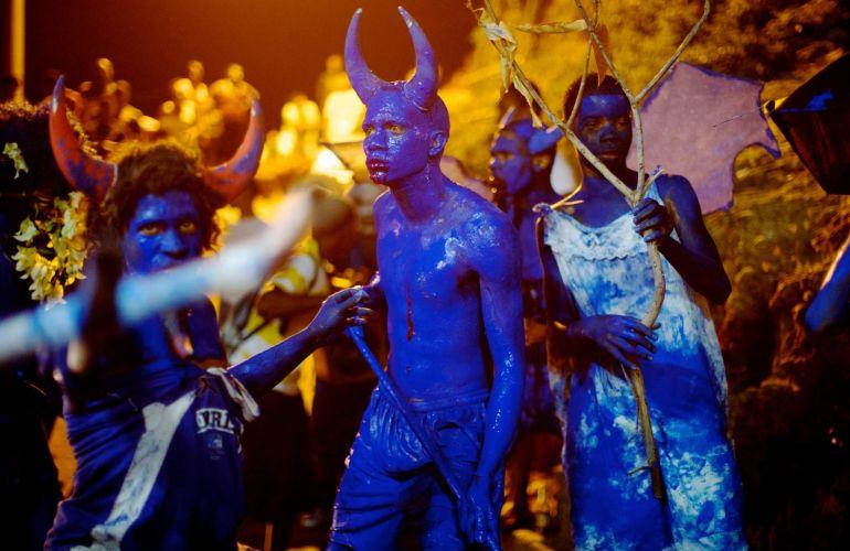 Trinidad Blue Devi for Jouvert